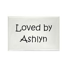 Cool Ashlyn Rectangle Magnet