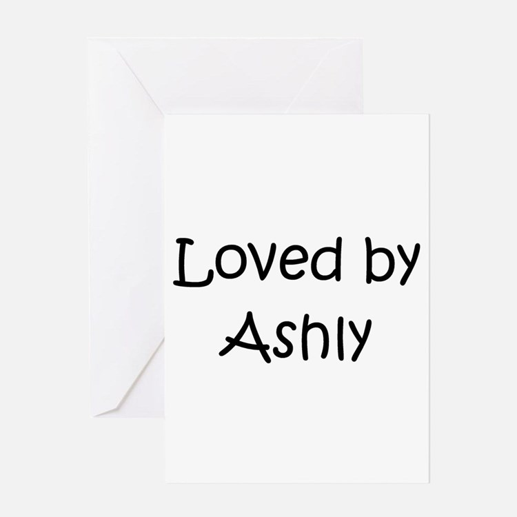 Cute Ashly Greeting Card