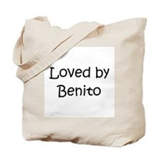 Cute Benito name Tote Bag
