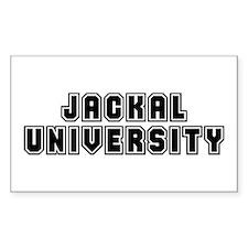 University Rectangle Decal