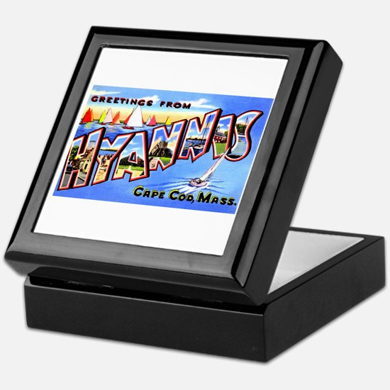 Hyannis Cape Cod Massachusetts Keepsake Box