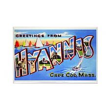 Hyannis Cape Cod Massachusetts Rectangle Magnet
