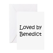 Cool Benedict Greeting Card