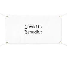 Unique Benedict Banner