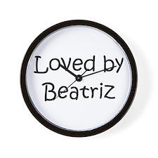 Unique Beatriz Wall Clock