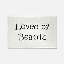 Cool Beatriz Rectangle Magnet