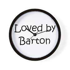 Funny Barton Wall Clock
