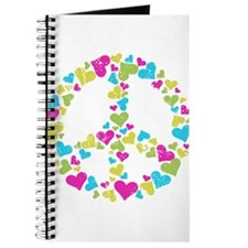 Love in Peace. Bunch of heart Journal