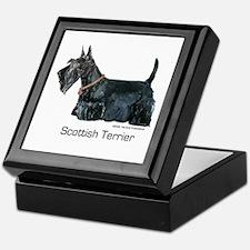 Scottish Terrier Love Keepsake Box