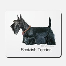 Scottish Terrier Love Mousepad