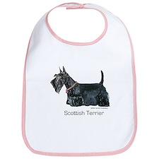 Scottish Terrier Love Bib