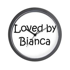 Cute Bianca Wall Clock