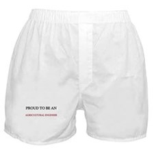 Proud To Be A AGRICULTURAL ENGINEER Boxer Shorts