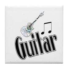 Guitar Tile Coaster