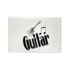 Guitar Rectangle Magnet (10 pack)