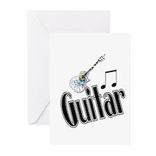 Guitar Greeting Cards (Pk of 20)