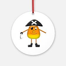 Candy Corn Pirate Keepsake (Round)