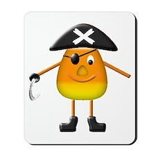 Candy Corn Pirate Mousepad