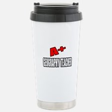 """A+ Geography Teacher"" Travel Mug"
