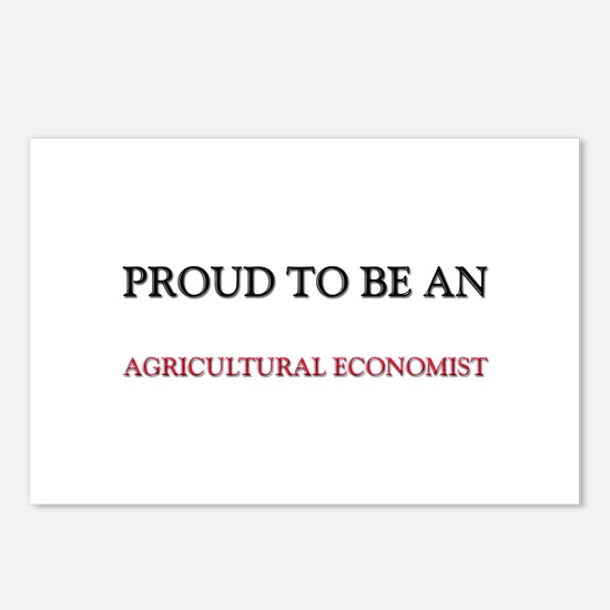Proud To Be A AGRICULTURAL ECONOMIST Postcards (Pa
