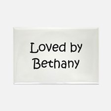 Unique Bethany Rectangle Magnet