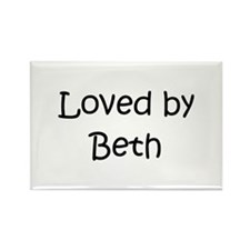 Cool Beth Rectangle Magnet