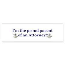 Proud parent Bumper Bumper Sticker