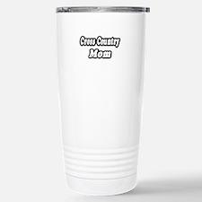 """Cross Country Mom"" Travel Mug"