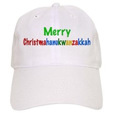 Merry Christmahanukwanzakkah Baseball Cap