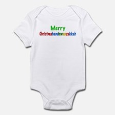 Merry Christmahanukwanzakkah Infant Bodysuit