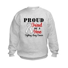 ProudFriendLungCancer Hero Sweatshirt