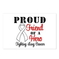 ProudFriendLungCancer Hero Postcards (Package of 8