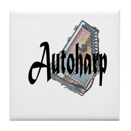 Autoharp Tile Coaster