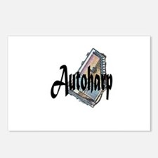 Autoharp Postcards (Package of 8)