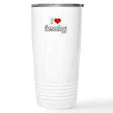 """""""I Love Genealogy"""" Travel Mug"""