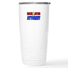 """Rock Star Attorney"" Travel Mug"