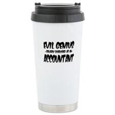 Cute Accounting joke Travel Mug