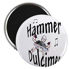 Hammer Dulcimer Magnet