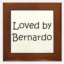 Unique Bernardo Framed Tile