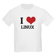 I Love Linux Kids T-Shirt
