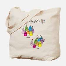 Party Monsters Tote Bag