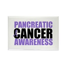 Pancreatic Cancer Rectangle Magnet