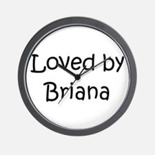 Unique Briana Wall Clock