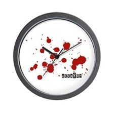 Stains Wall Clock