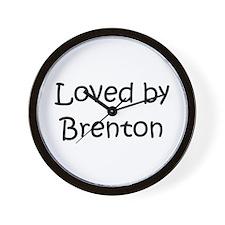 Funny Brenton Wall Clock