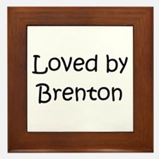 Unique Brenton Framed Tile