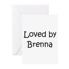 Unique Brenna Greeting Cards (Pk of 10)