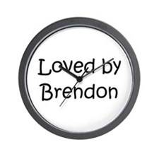 Cute Brendon Wall Clock
