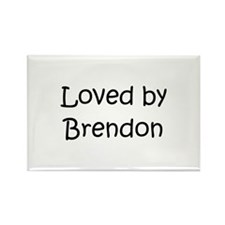 Cute Brendon Rectangle Magnet