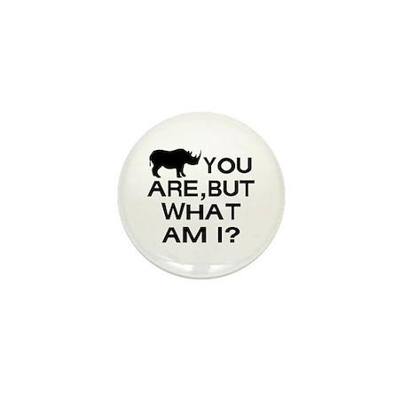 Rhino You Mini Button